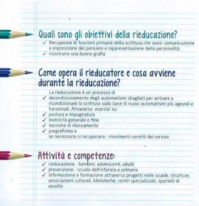 Obiettivi della rieducazione